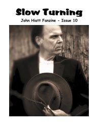 Slow Turning - The John Hiatt Archives