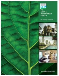 annual report 2009 YTL LAND & DEVELOPMENT ... - YTL Community