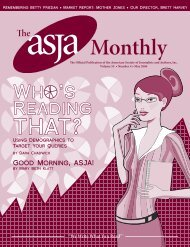 May 2006 - The ASJA Monthly