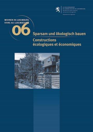 Sparsam und ökologisch bauen Constructions écologiques et ...