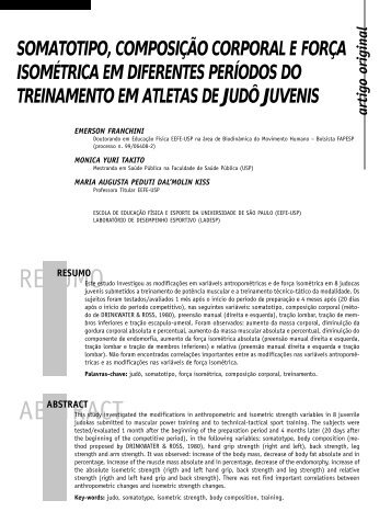 RESUMO ABSTRACT - Portal Saude Brasil . com