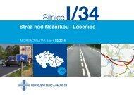 Silnice I/34 Stráž nad Nežárkou–Lásenice - Ředitelství silnic a dálnic