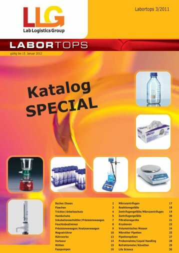Katalog SPECIAL