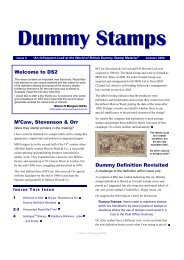 Issue 2 - Autumn 2006 - Stamp Printers