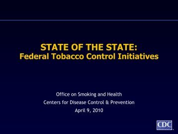 STATE OF THE STATE: - Society for Public Health Education