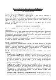 Regolamento viaggi di istruzione ed uscite didattiche - IIS-Newton