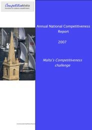 Malta's Competitiveness challenge
