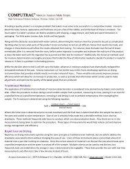 Moisture Analysis Made Simple - Baking Industry - Arizona Instrument