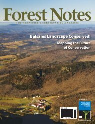 Forest Notes No. 270, Spring 2012 - Society for the Protection of ...