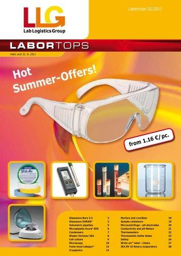 LaborTops 2/2011 Edition - bei der Lab Logistics Group GmbH