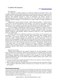 Un'opinione sulle competenze 2007, http://www ... - Adrianocolombo.it
