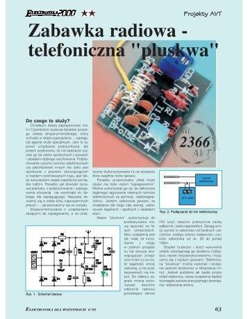 "Zabawka radiowa – telefoniczna ""pluskwa"" (195KB) - Elportal"