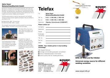 Telefax - Soyer