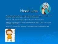 Head Lice - Farmington Public Schools
