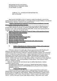 23-06-2008 - Dipartimento di Linguistica Letteratura e Filologia ...