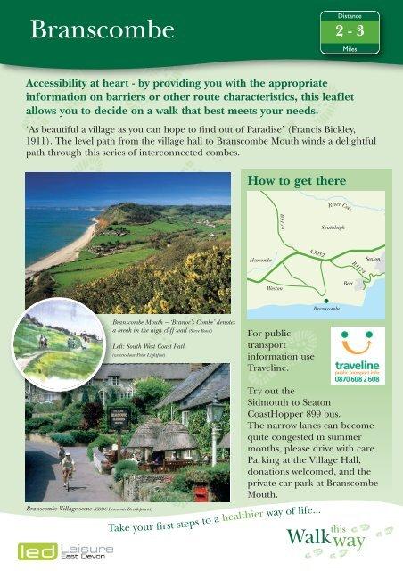 Branscombe - East Devon Area of Outstanding Natural Beauty
