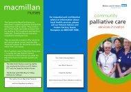 Halton Palliative Care Services.cdr - Halton and St Helens PCT