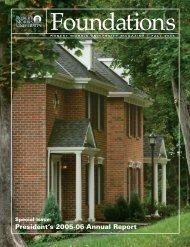 President's 2005-06 Annual Report - Robert Morris University