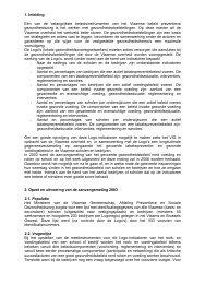 1. Inleiding Eén van de belangrijkste beleidsinstrumenten van het ...