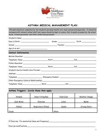 nursing care plan for asthma management Gp management plan templates  palliative care  gpmp 721 and tca 723 – hypertensionrtfrtf gpmp 721 – asthmartfrtf.