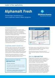 Alphamalt Fresh - Mühlenchemie GmbH & Co. KG