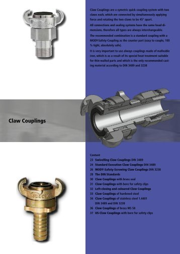 Claw Couplings