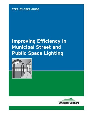 Improving Efficiency in Municipal Street and Public Space Lighting