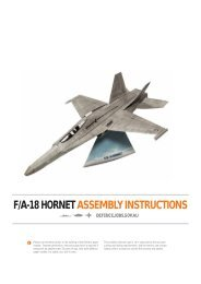 f/a-18 hornet assembly instructions - Australian Defence Force ...