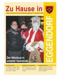 Der Nikolaus in unserer Gemeinde Seite 9 - Gemeinde Eggendorf