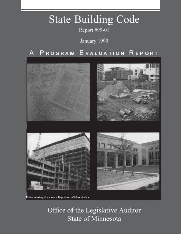 State Building Code - Office of the Legislative Auditor