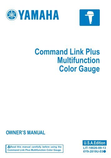 command link multifunction meter square yamaha outboards rh yumpu com yamaha outboard owners manual f115 yamaha outboard owners manual f115