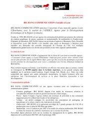 BIG BANG COMMUNICATION s'installe à Lyon BIG BANG ... - Aderly