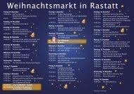 Musik- und Veranstaltungsprogramm zum Download - Stadt Rastatt