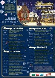 Arnstädter - Weihnachtsmarkt.info