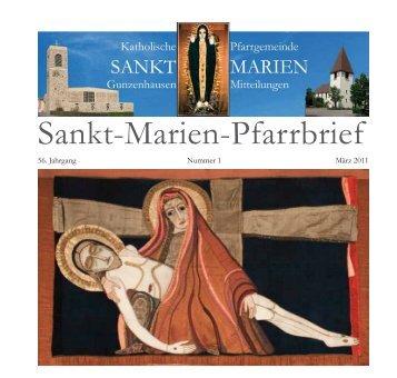 Sankt-Marien-Pfarrbrief - Bistum Eichstätt