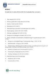 Referat ordinært møde den 11. oktober - Indre By Lokaludvalg ...