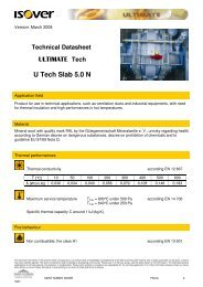 U Tech Slab 5-0 N - Isover