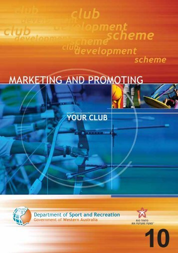 MARKETING AND PROMOTING - VicSport