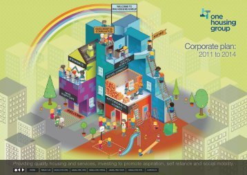 Corporate plan 2011- 2014 - One Housing Group