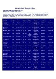 Shipping list (20K PDF) - Tasports