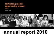 Annual Report 2010 - YWCA USA