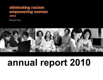 Annual Report 2010 - YWCA USA