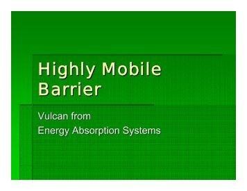 Vulcan™ barrier