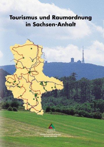Tourismus und Raumordnung in Sachsen-Anhalt