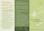 hallo Kai! - hallobtf!