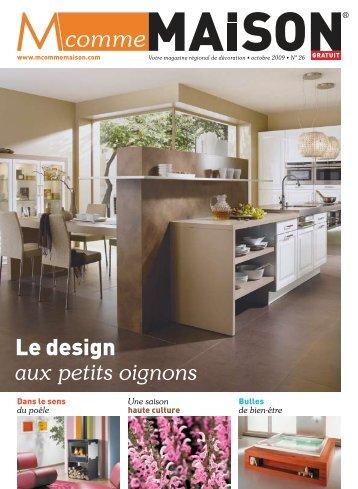 Le design aux petits oignons - M comme Maison