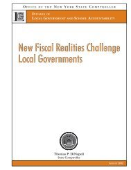 New Fiscal Realities Challenge Local Governments New Fiscal ...