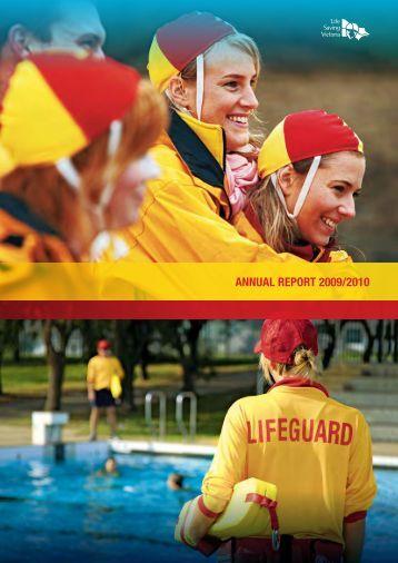 Life Saving Victoria Annual Report 2009/10