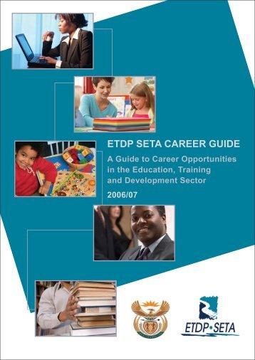 ETDP SETA CAREER GUIDE - The Institute of People Development