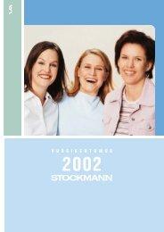 Vuosikertomus 2002 - Stockmann Group